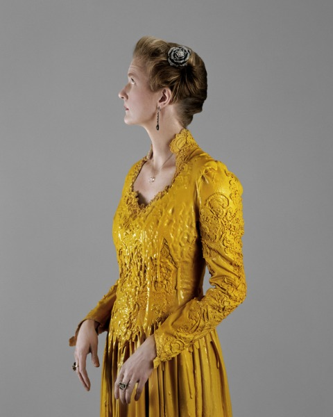 Woman in Yellow Dress, 2009