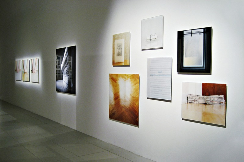 Installation view from Beaux-arts de Paris, Rose Boréal, 2008