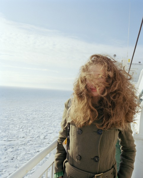 Janine in the wind, 2006