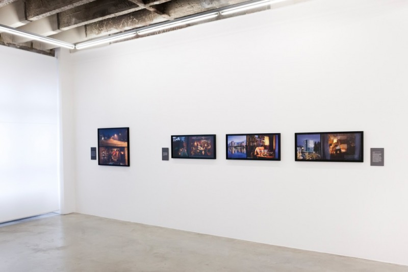 Installation view of Jari Silomäki – Framing the World, Gallery Taik, 2017/2018