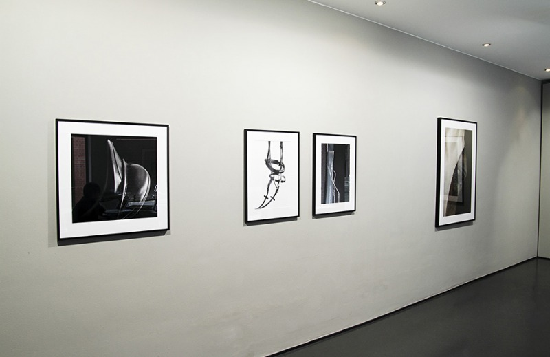Installation view from Gallery Taik, Berlin, Turn Down Cener Line, 2011