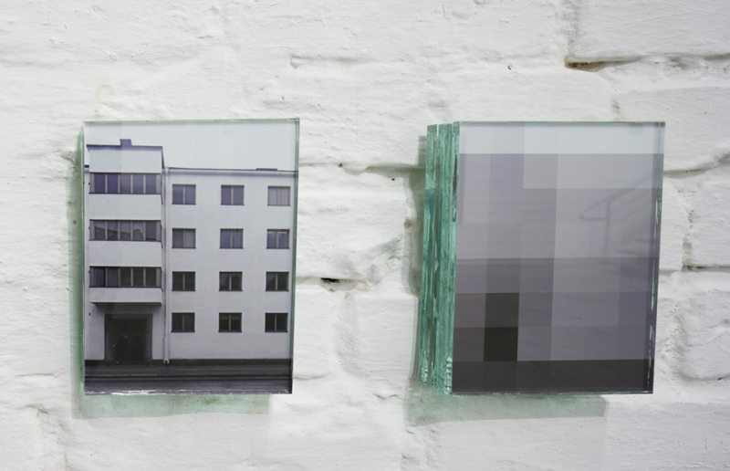 House, White I/ II (Dangerous Little Green Boxes # 7), 2012