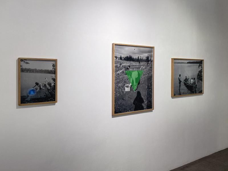 Installation View at davidbehningen Gallery, Düsseldorf, Germany 2020