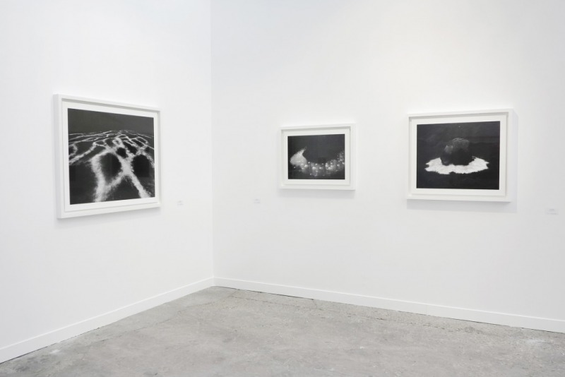 Installation View of Jyrki Parantainen at Paris Photo, 2014