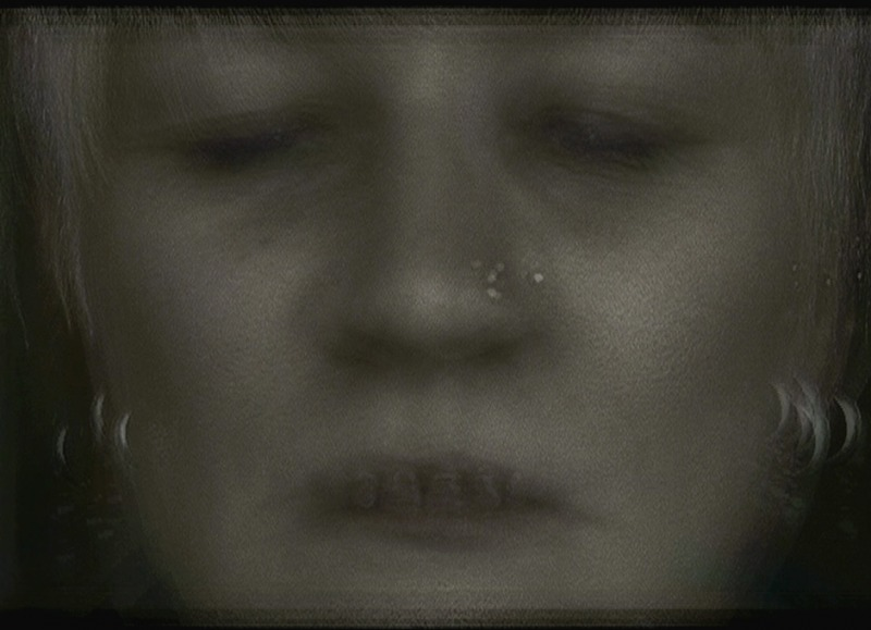 Untitled #19, video still from the Pain Project, 2010.