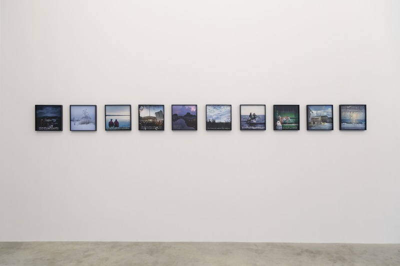 Installation view, The Nature of Being, Persons Projects, 2020