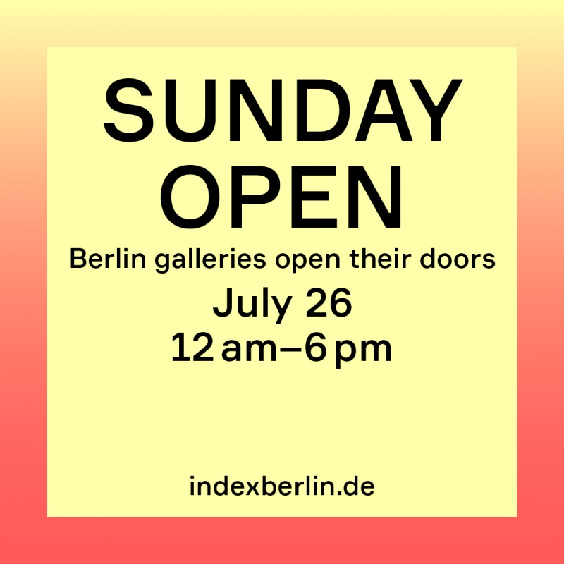 SUNDAY OPEN by Index