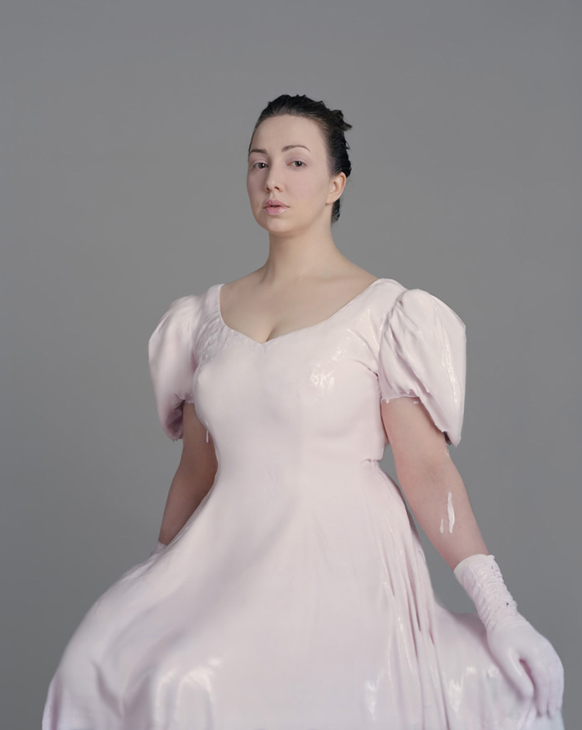 Woman In Pink Dress, 2008
