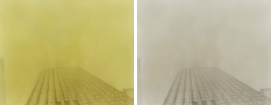 Yellow Manhattan Diptych 2004