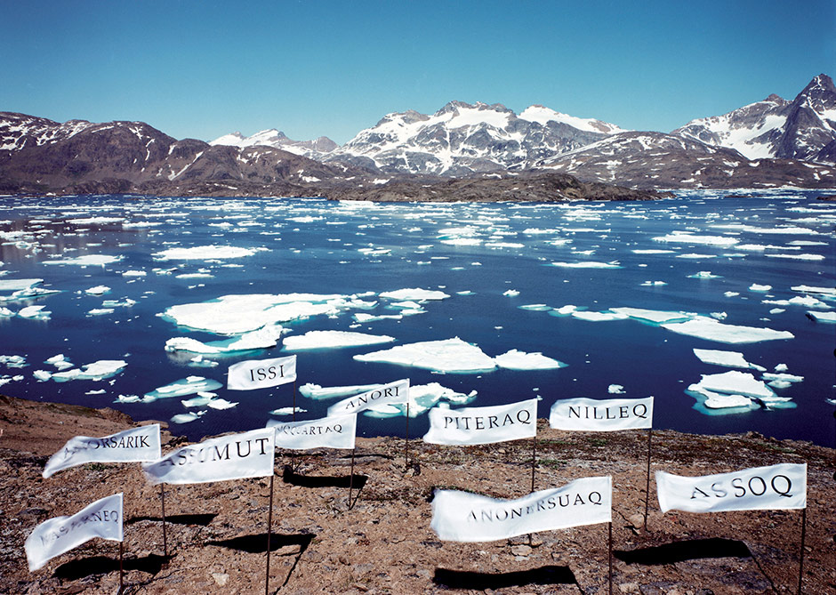 Language is a Foreign Country (Wind Words), 1999