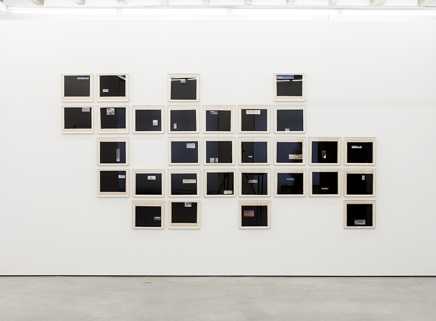 Installation view of Waiting for the Clouds to Vanish, since 2014