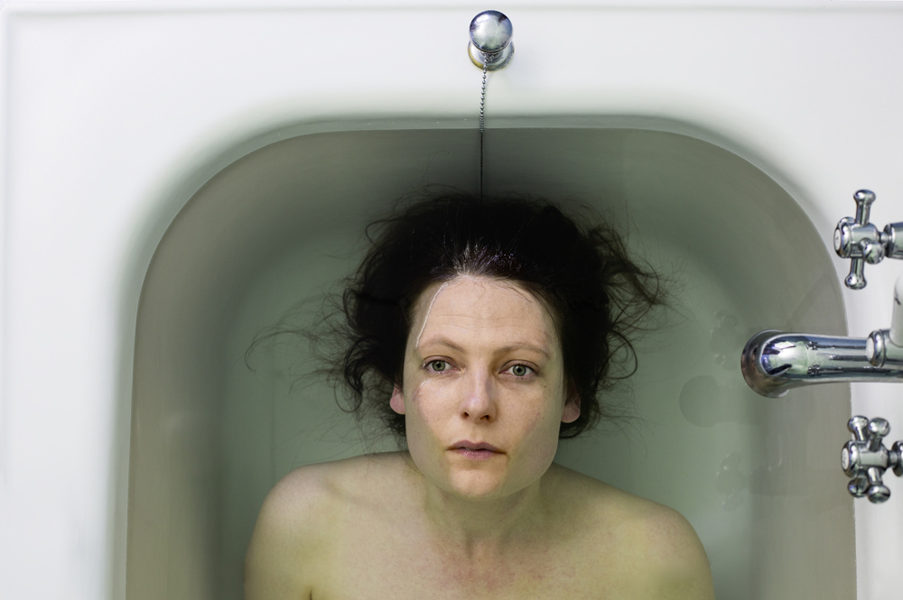 Untitled (woman in bath), 2015