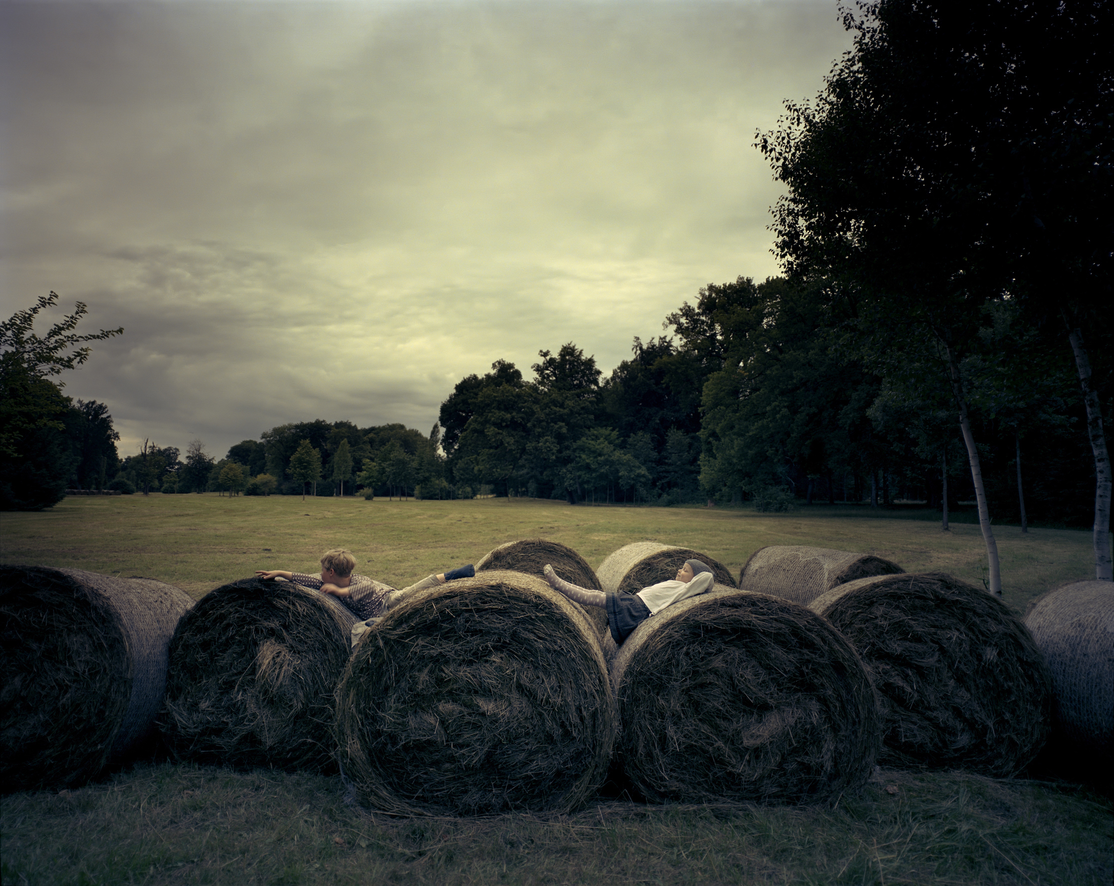 Straw Bales. Home VI, 2017